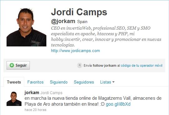 Consultor SEO Jordi Camps