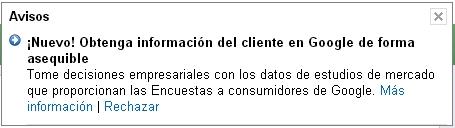 AdWords-Consumer-Surveys