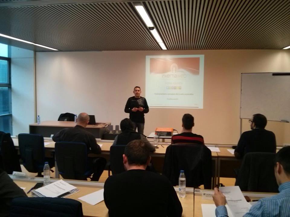 Sesión MBA Posicionamiento en Buscadores SEO con AENTEG y la UDG