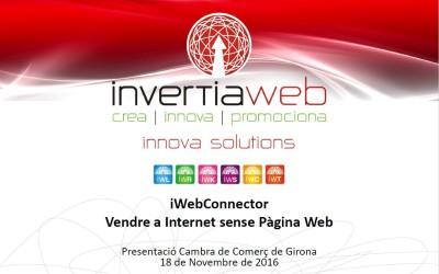 Presento nuestro SAS iWebConnector a la cámara de comercio de Girona