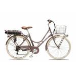 Bicicleta Electrica Cuca Granate